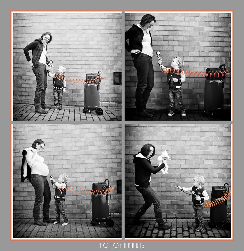 Belly fotoshoot bij Fotoaanhuis te Wareegem - tussen Gent en Kortrijk