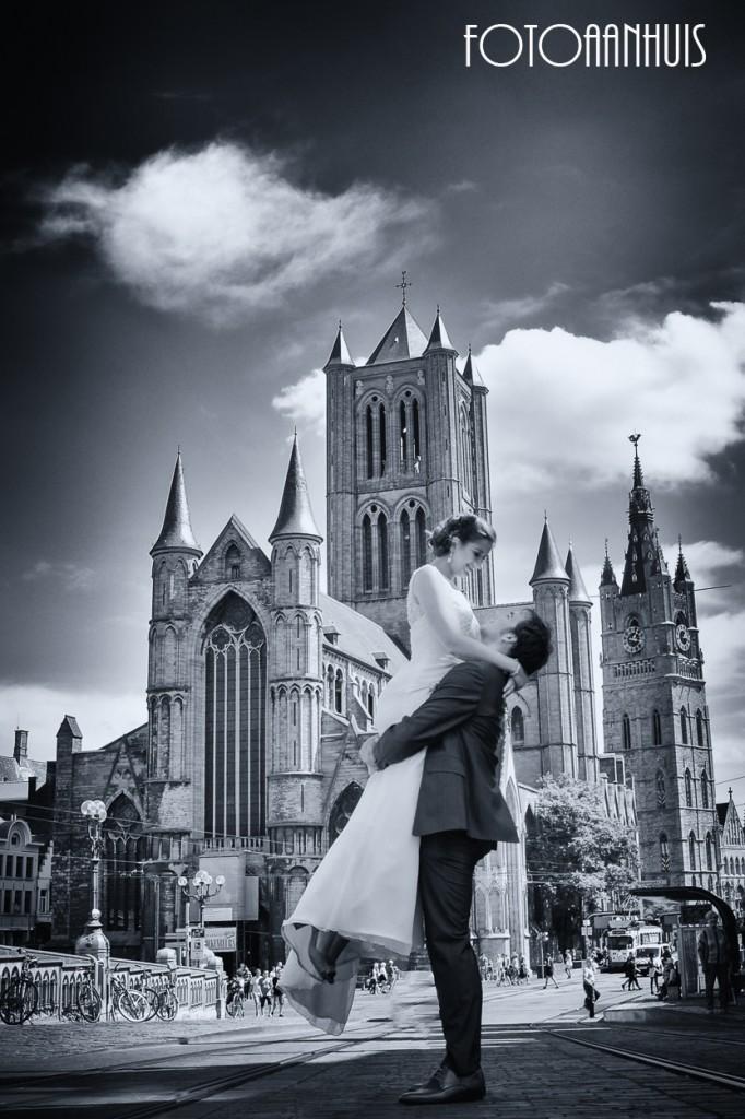 huwelijksreportage bij Fotoaanhuis Lincy & Dirk Waregem (kort bij Gent en Kortrijk)