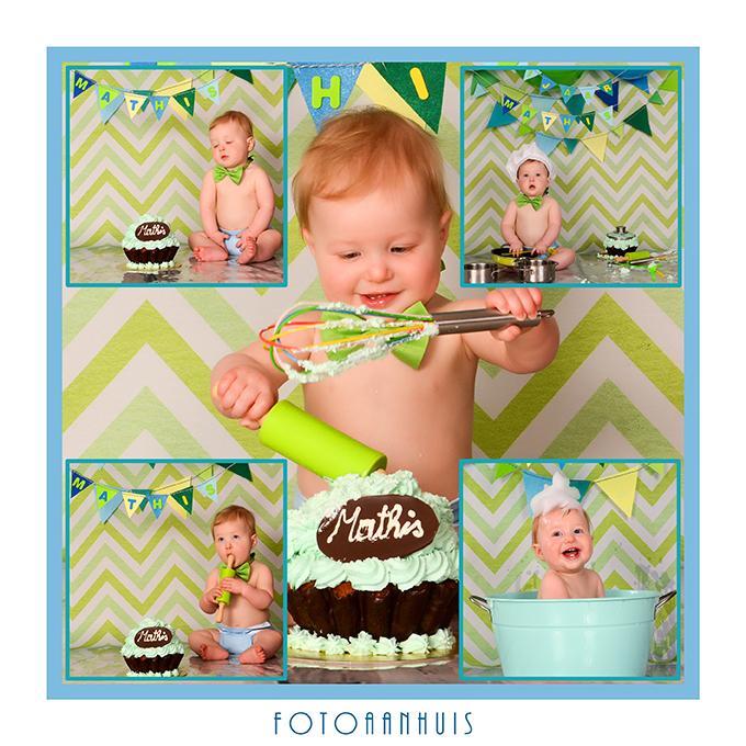 Smash that cake Photoshoot