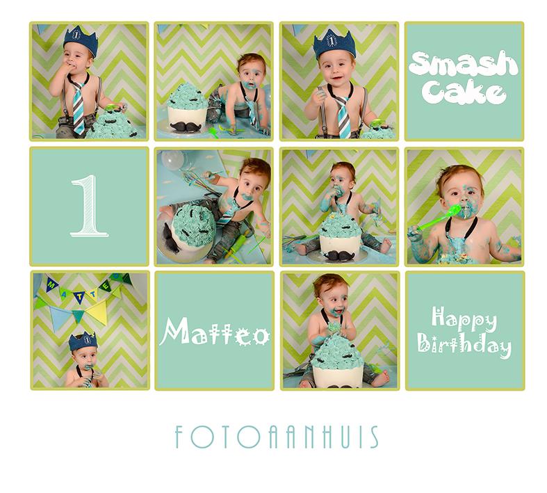 Cake Smash - babyfotografie