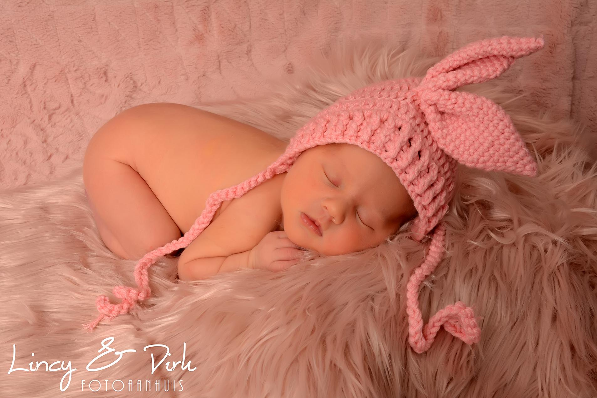 Newborn Fotoshoot met Lilou