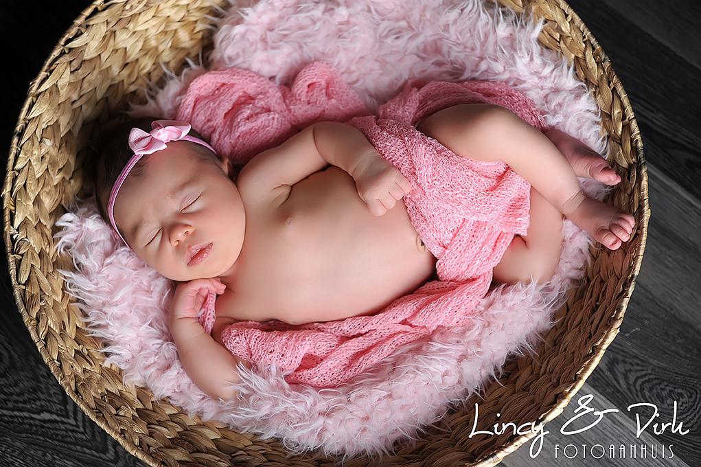 Newborn fotografie Oudenaarde Baby