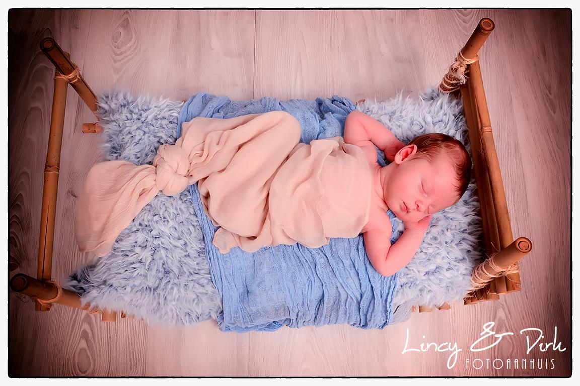 Newborn baby fotoshoot Harelbeke