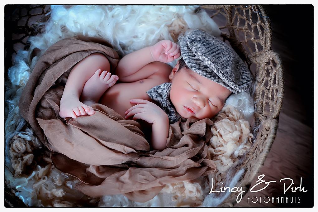 newbornfotografie baby Waregem