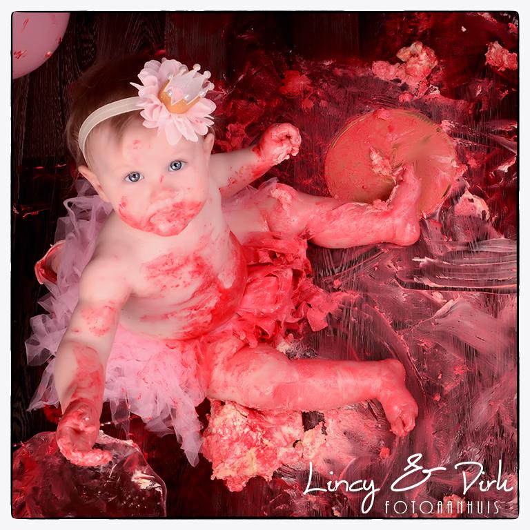cake smash Fotoshoot - baby verjaardag - waregem anzegem deerlijk