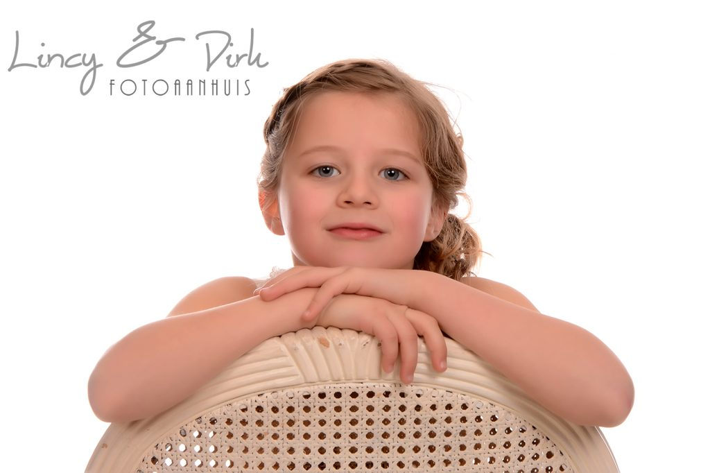Communie lentefeest fotoshoot spontaan in studio locatie