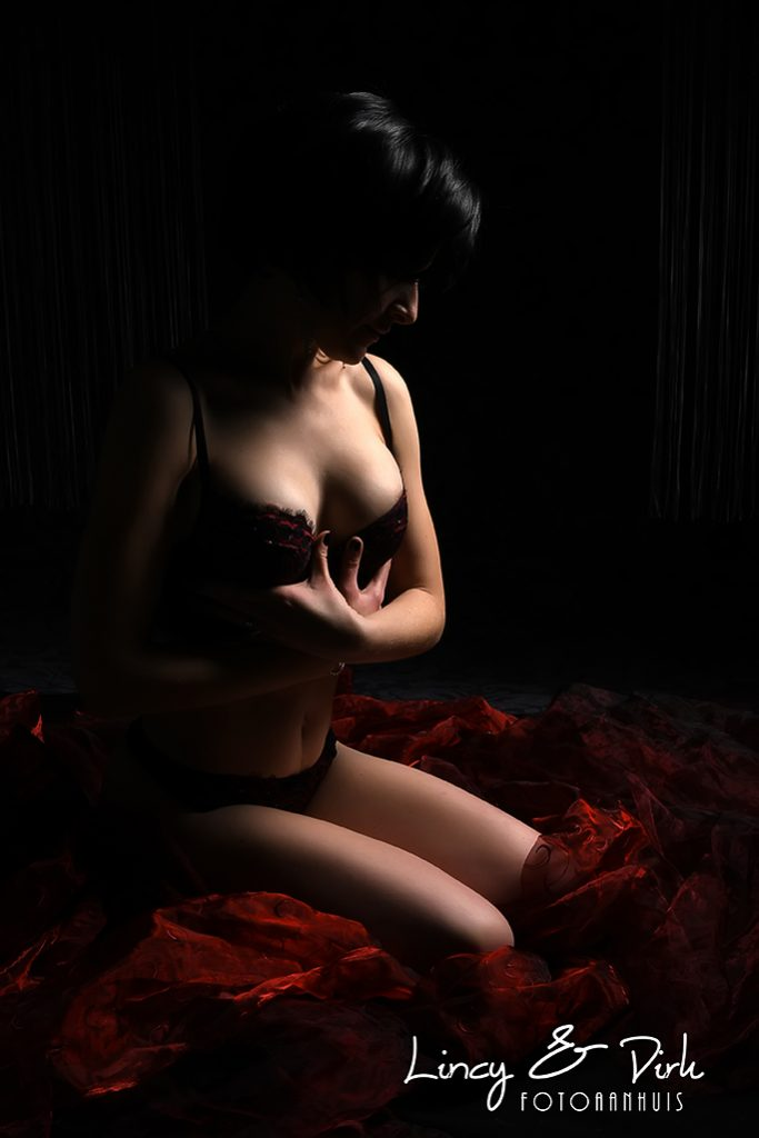 Boudoir Lingerie fotoshoot studio