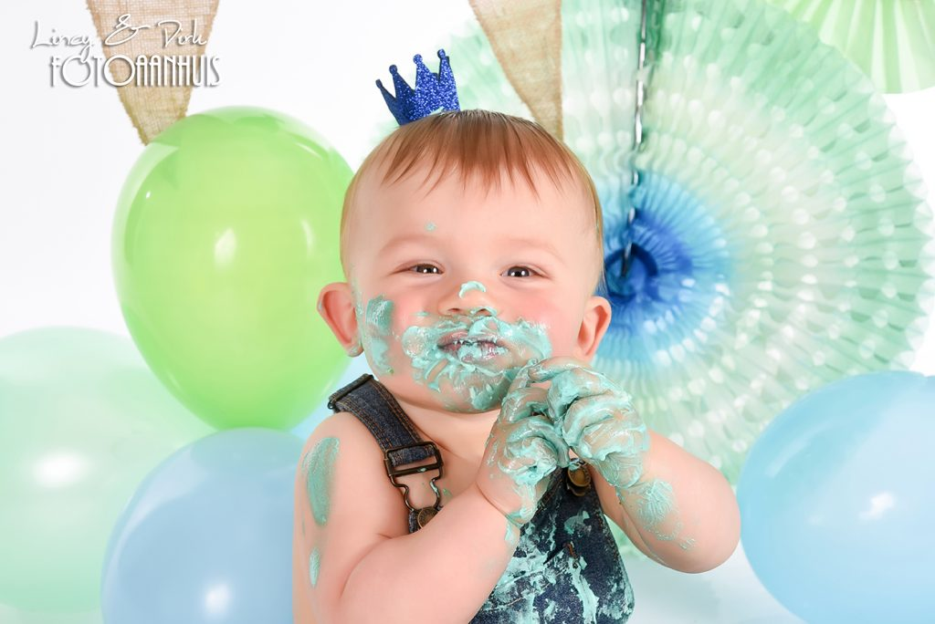 verjaardag taart fotoshoot SmashCake CakeSmash Waregem Kortrijk Gent