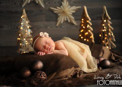 baby fotografie Waregem kerst