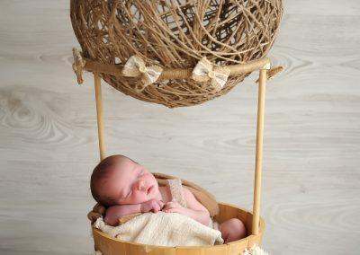 baby fotoshoot newborn Oost-Vlaanderen