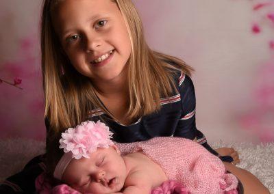 baby fotoshoot newborn Kuurne