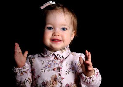 baby sitter verjaardag fotoshoot studio Portret Harelbeke