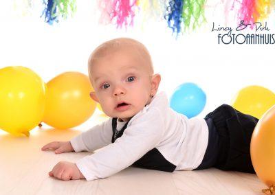 baby verjaardag fotoshoot studio Portret Kortrijk