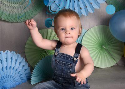 baby sitter verjaardag fotoshoot studio Portret Bissegem