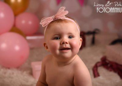 baby sitter verjaardag fotoshoot studio Portret