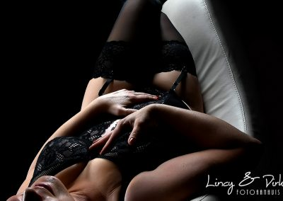Lingerie fotoshoot boudoir fotografie te Waregem