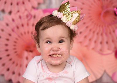 Cake Smash verjaardag baby taart Kuurne