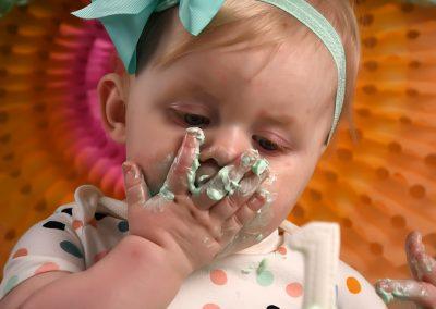 Cake Smash verjaardag baby taart Harelbeke