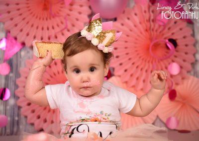 Cake Smash verjaardag baby taart Oudenaarde