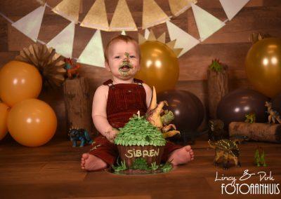 Cake Smash verjaardag baby taart Wetteren