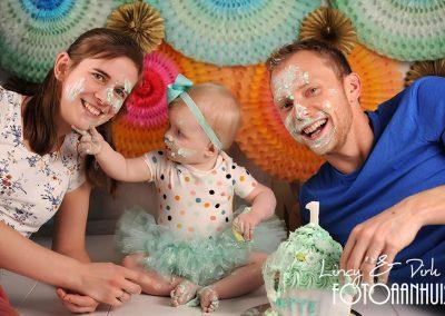 Cake Smash verjaardag baby taart Lokeren