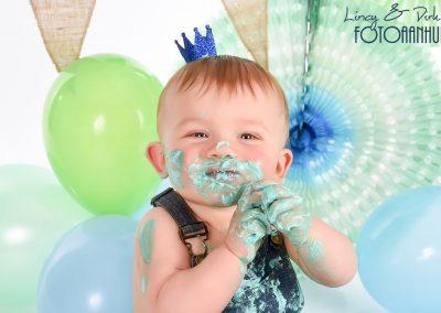 Cake Smash verjaardag baby taart Aalter