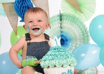 Cake Smash verjaardag baby taart Deinze