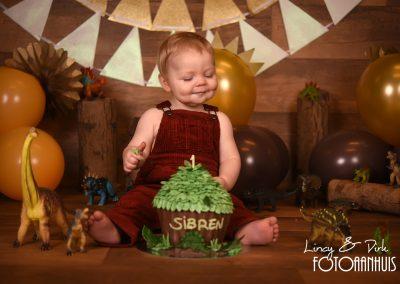 Cake Smash verjaardag baby taart Kortrijk