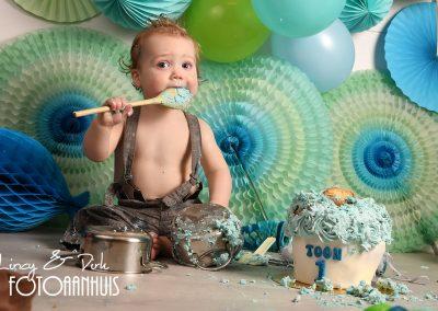 Cake Smash verjaardag baby taart Lendelede