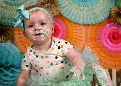 Cake Smash verjaardag baby taart Zulte