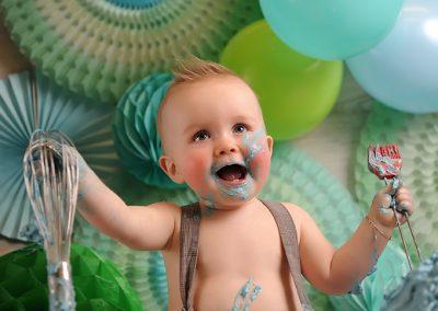 Cake Smash verjaardag baby taart Tielt