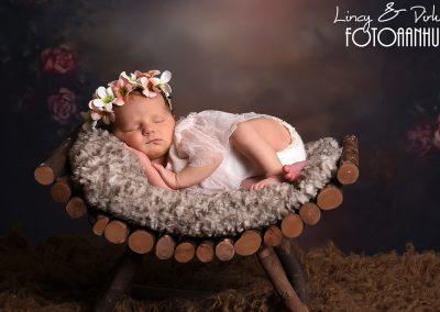 newborn baby babyfotograaf boho Kortrijk