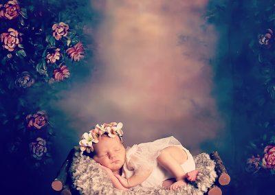 newborn baby babyfotograaf Gent
