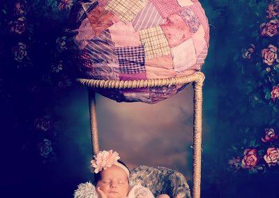 boho newborn baby babyfotograaf