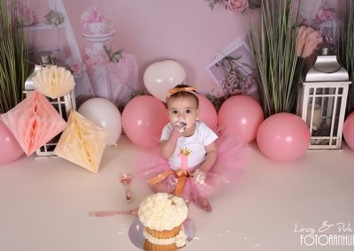 verjaardag verjaardagstaart smash cake boho thema